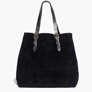 Madewell Portland Suede Tote